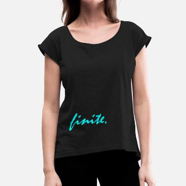 Hermine Finite gift, potter hermine wizard witch - Women's T-Shirt with rolled up sleeves