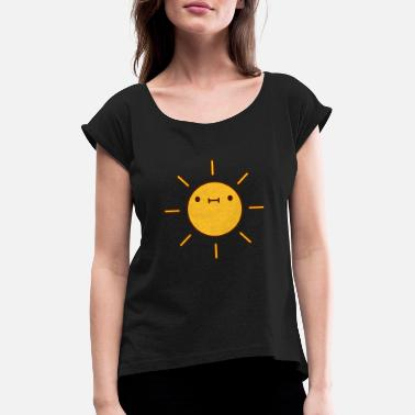 Alive sweet little sun - Women's Rolled Sleeve T-Shirt