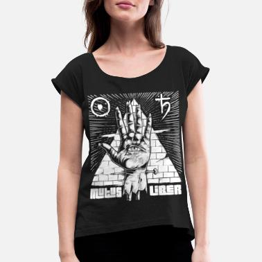 Woman Alchemy hand man woman child - Women's Rolled Sleeve T-Shirt