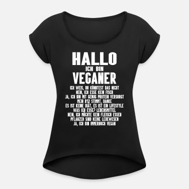 Vegan Veganer Veganerin Lustige Spruche Frauen Premium Tanktop