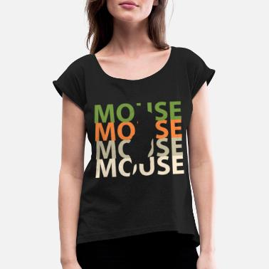Mice mice - Women's Rolled Sleeve T-Shirt