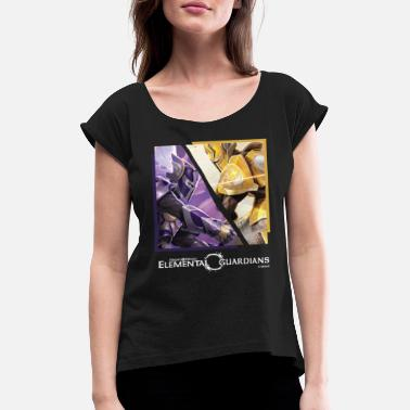Might & Magic Elemental Guardians - Camiseta con manga enrollada mujer
