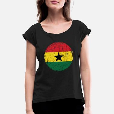 Ghana Ghana - Women's Rolled Sleeve T-Shirt