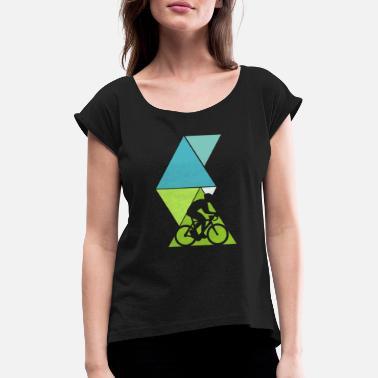 Bicycle Tour bicycle tour - Women's Rolled Sleeve T-Shirt