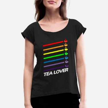 Tea Lover Tea Lover - Women's Rolled Sleeve T-Shirt