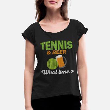 6126b41cc3cb Beer Tennis Tennis beer - Women  39 s Rolled Sleeve ...