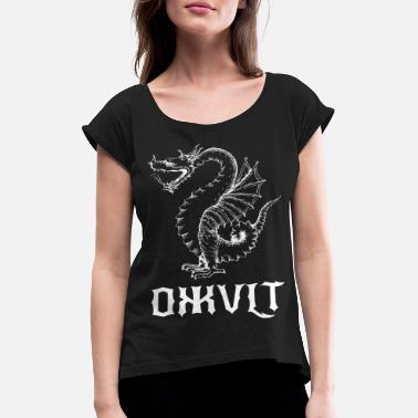Occult Dragon occult - Women's Rolled Sleeve T-Shirt