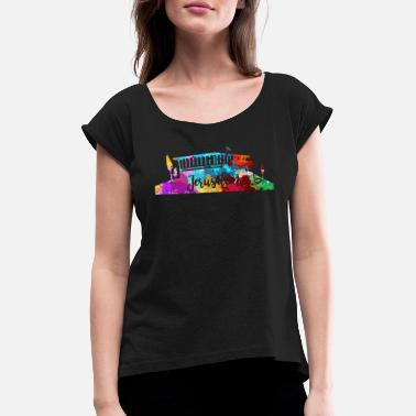 Jerusalem Jerusalem - Women's Rolled Sleeve T-Shirt