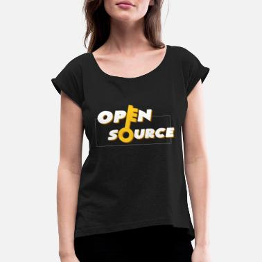 Open Source Open source - Women's Rolled Sleeve T-Shirt