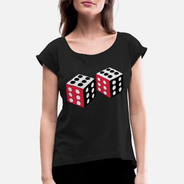 Dice Dice - Women's Rolled Sleeve T-Shirt