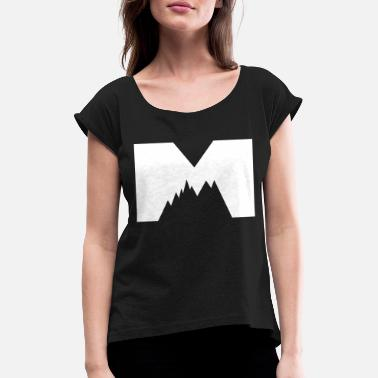 Mountains Clothes mountains - Women's T-Shirt with rolled up sleeves