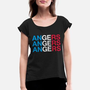Anger ANGERS - Women's Rolled Sleeve T-Shirt