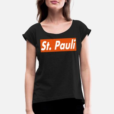 St Pauli St. Pauli - Women's Rolled Sleeve T-Shirt
