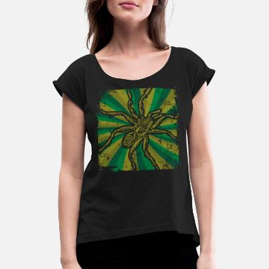 spider - Women's Rolled Sleeve T-Shirt