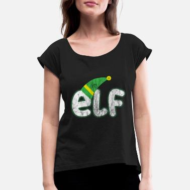 Elf Christmas - Elf - Women's Rolled Sleeve T-Shirt