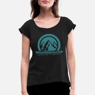 Madagascar Madagascar - Women's Rolled Sleeve T-Shirt