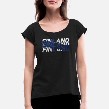 Finland Finland - Women's Rolled Sleeve T-Shirt