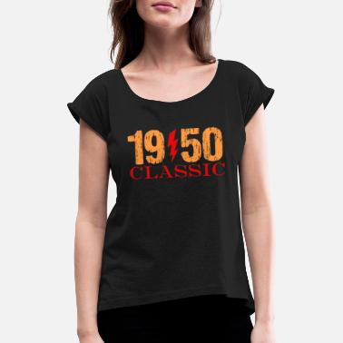 Classic Rock 1950 Classic Rock - Women's Rolled Sleeve T-Shirt