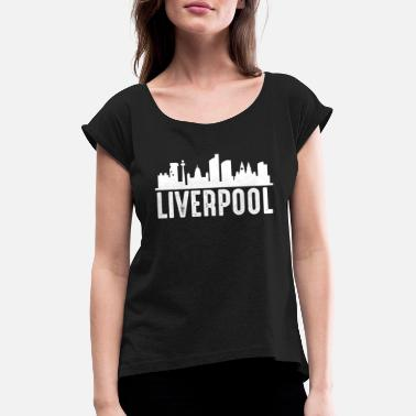 Liverpool Football Liverpool - Women's Rolled Sleeve T-Shirt