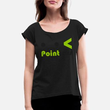 Pointless Pointless - Women's Rolled Sleeve T-Shirt