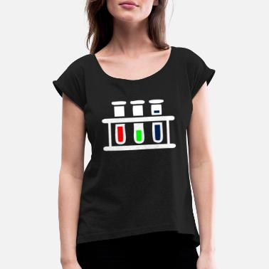 Test Tube Test tubes - Women's Rolled Sleeve T-Shirt