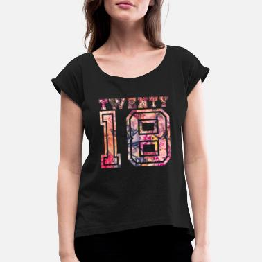 Twenties Twenty 2018 - Women's T-Shirt with rolled up sleeves