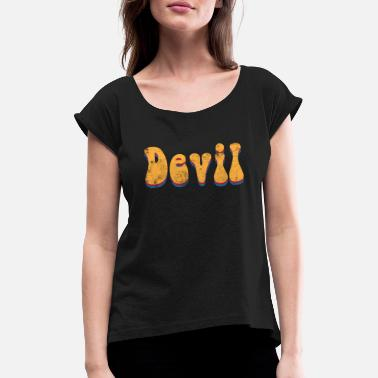 Devil Male Devil devil - Women's Rolled Sleeve T-Shirt