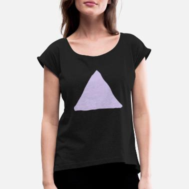 Triangle Shape Triangle shape - Women's Rolled Sleeve T-Shirt