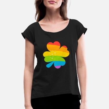 Lucky Charm LUCKY CHARMS - Women's Rolled Sleeve T-Shirt