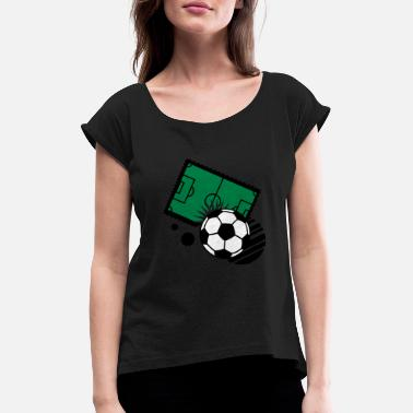 Playing Field playing field - Women's Rolled Sleeve T-Shirt