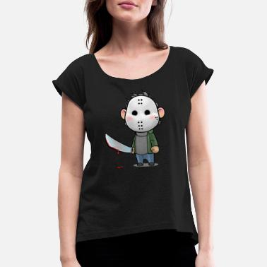 Jason Jason - Women's T-Shirt with rolled up sleeves