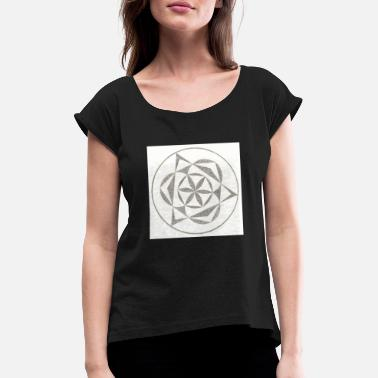 Wildflower Wildflower - Women's T-Shirt with rolled up sleeves