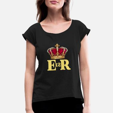 Royal royal - Women's Rolled Sleeve T-Shirt