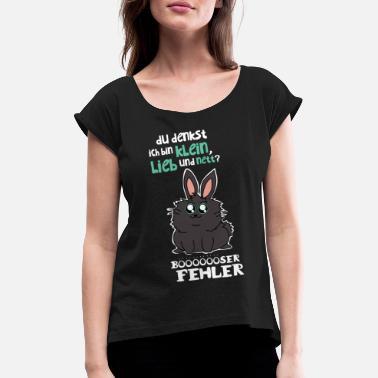 5b526637e5f Hyggeligt Pige Små, hyggelige og hyggelige - T-shirt med rulleærmer dame