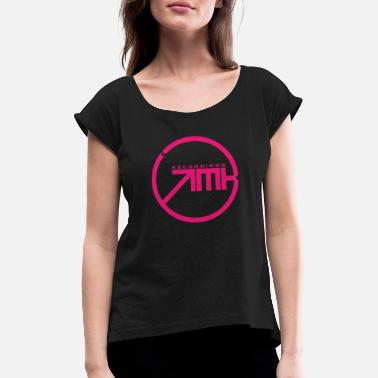 Tech Record EMKE RECORDINGS • SONIC EDITION • - Women's T-Shirt with rolled up sleeves