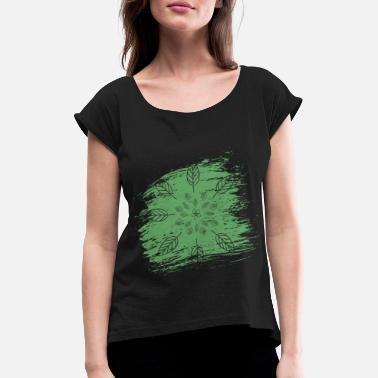 Garden Gardener garden gardening - Women's T-Shirt with rolled up sleeves