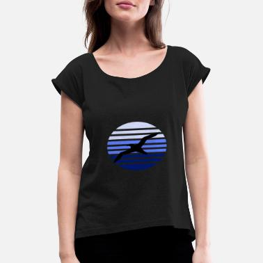 Albatross Albatross - Women's T-Shirt with rolled up sleeves