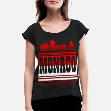 Monaco monaco - Women's Rolled Sleeve T-Shirt