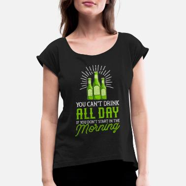 St Paddys Day St Patrick's Day Irish Ireland Drunk Beer Paddy - Women's Rolled Sleeve T-Shirt