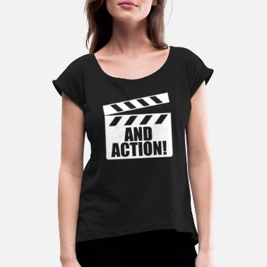 Scene Theatre Actor Theatre Stage Play - Women's Rolled Sleeve T-Shirt