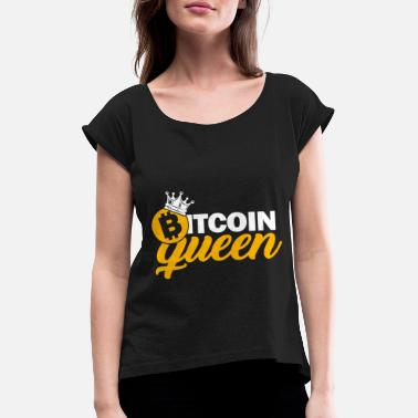 Crypto Currency Bitcoin Cryptocurrency Bullrun Gift Fun Shirt - Women's Rolled Sleeve T-Shirt