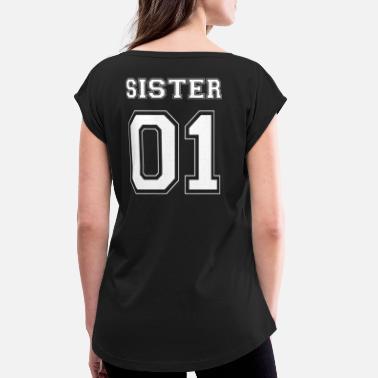 SISTER 01 Unicorn Einhorn T-Shirts BFF Schwestern Shirts Pärchen Beste Freundin