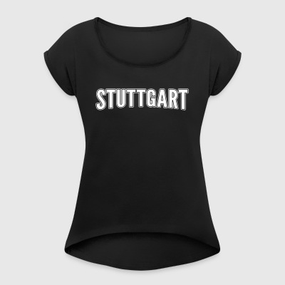 Stuttgart - Women's T-shirt with rolled up sleeves