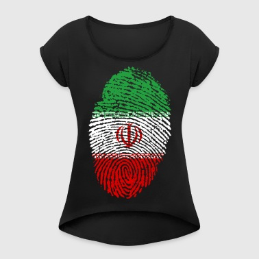 IRAN / ISLAM / PEOPLE - Women's T-shirt with rolled up sleeves