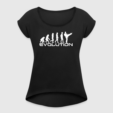 EVOLUTION KAMPFSPORT - Women's T-shirt with rolled up sleeves