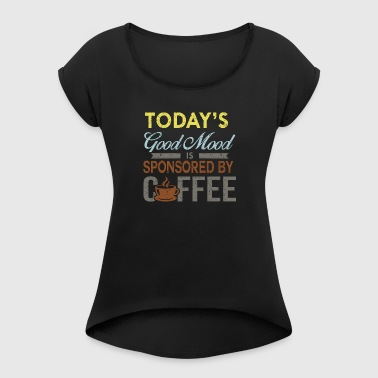 Coffe Lovers - Women's T-shirt with rolled up sleeves