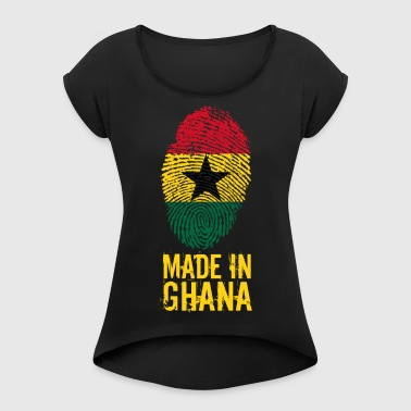 Made in Ghana / Made in Ghana - T-shirt à manches retroussées Femme