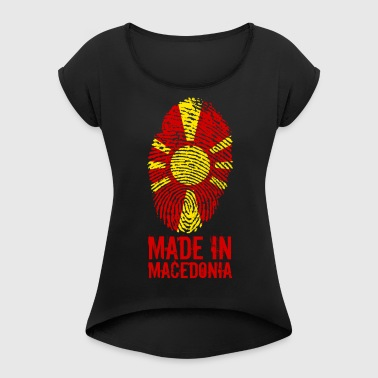 Made in Macedonia / Made in Macedonia - Maglietta da donna con risvolti