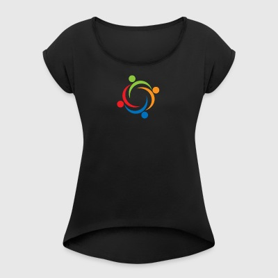 diversity - Women's T-shirt with rolled up sleeves