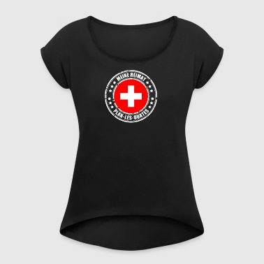 MY HOME PLAN-LES-OUATES - Women's T-shirt with rolled up sleeves